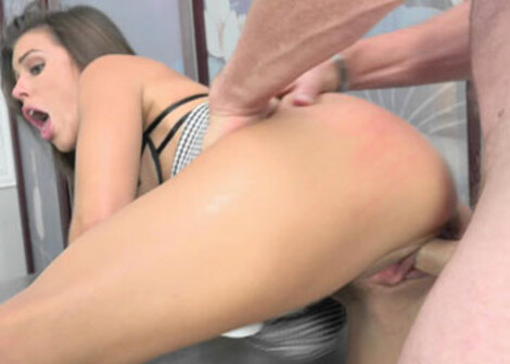 Slutty boss Adriana rewards an employee
