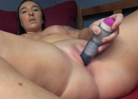 Isabella Handy puts on a show with her toy